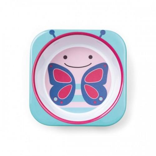 Меламиновая миска Skip Hop  Бабочка