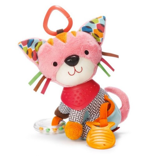 Мягкая, красочная игрушка Кошка