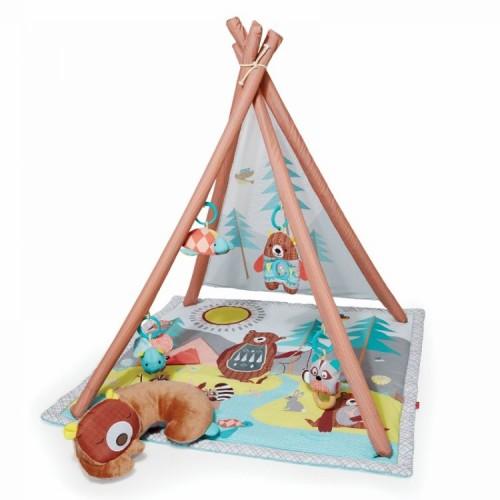 Обучающий коврик Tipi Camping Skip Hop