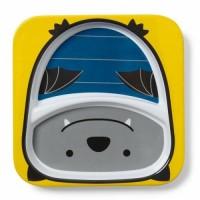 Тарелка с отсеками Skip Hop Летучая мышка