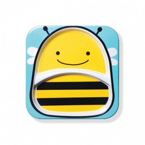 Тарелка с отсеками Skip Hop Пчелка