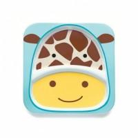 Тарелка с отсеками Skip Hop Жираф