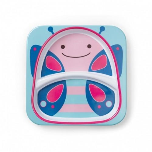 Тарелка с отсеками Skip Hop Бабочка