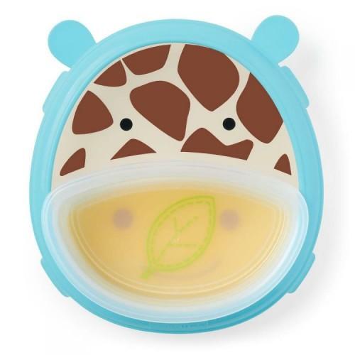 Тарелка и миска Skip Hop  Zoo Zyrafa