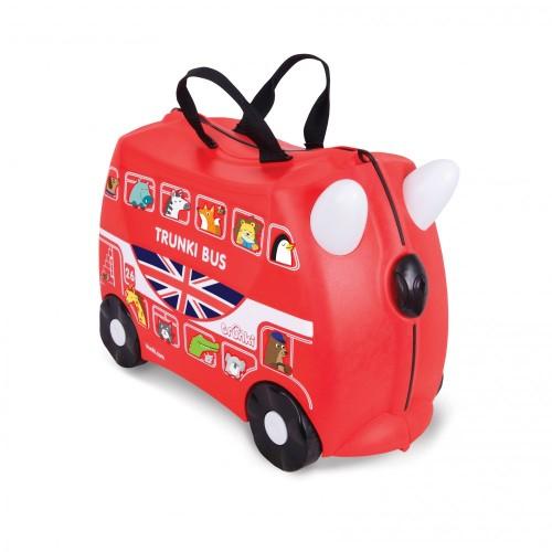 Детский чемодан для путешествий Boris Bus