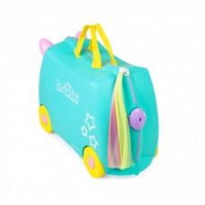 Детский чемодан для путешествий единорог