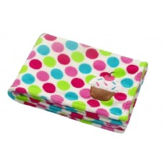 Мягкое одеяло с пищалкой из микрофибры Babyono
