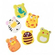 Игрушки-присоски для ванной 6 штук Babyono