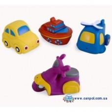 Игрушки для купания Авто 4 шт. Canpol Babies