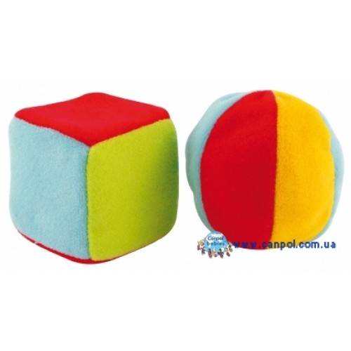 Набор погремушек Мячик и Кубик