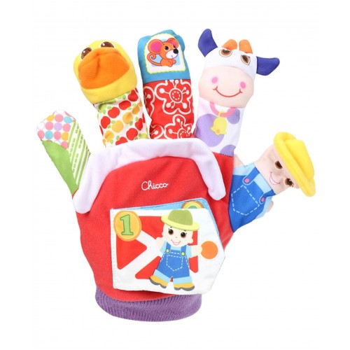Игрушечная перчатка Ферма Chicco