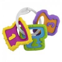 Погремушка Прорезыватель для зубок Ключи Chicco